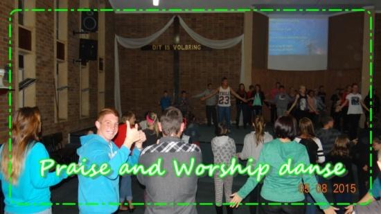 Praise and worship danse