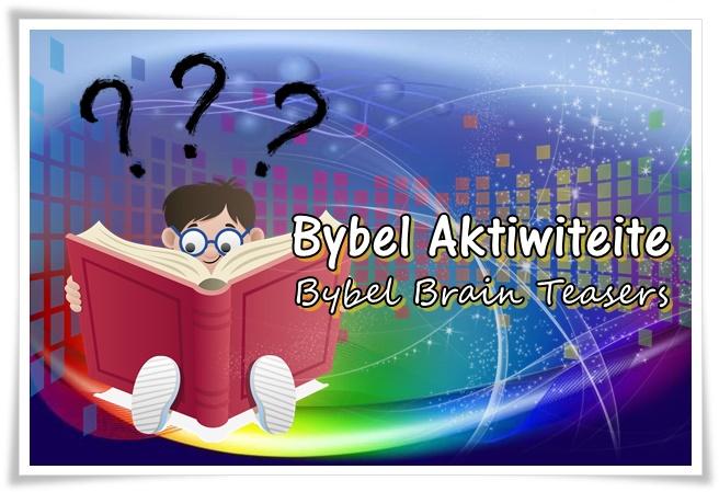 bybel brain teasers - groot