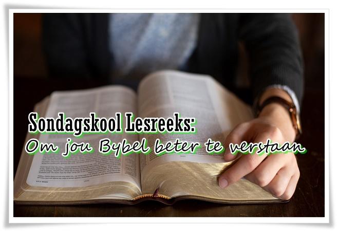 Bybel te verstaan - groot