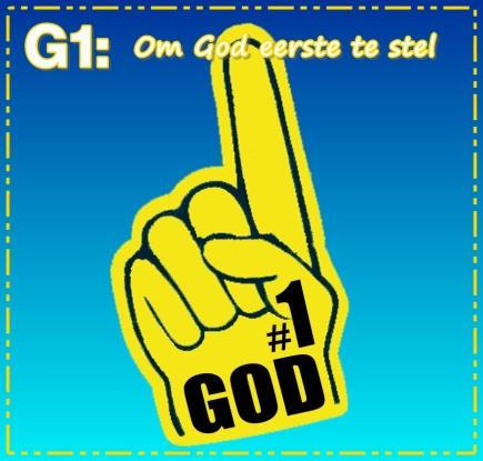G1 - Om God eerste te stel