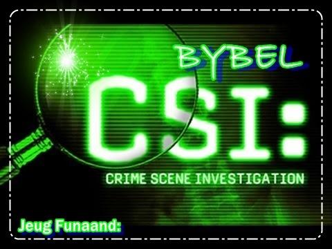 Jeug funaand - Bybel CSI - 1