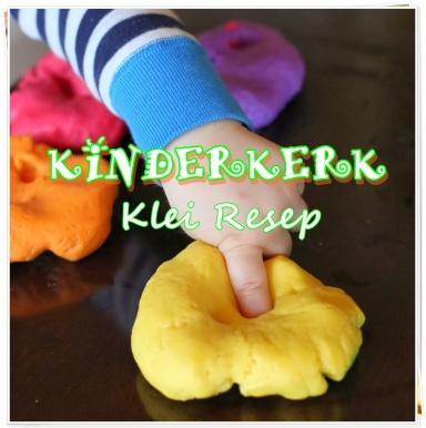 Kinderkerk - Klei resep