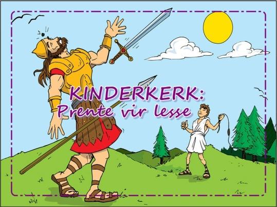 Kinderkerk - Prente vir lesse