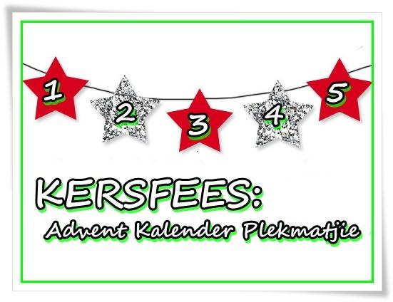 Kersfees - Advent Kalender Plekmatjie