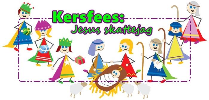 Kersfees - Jesus skattejag