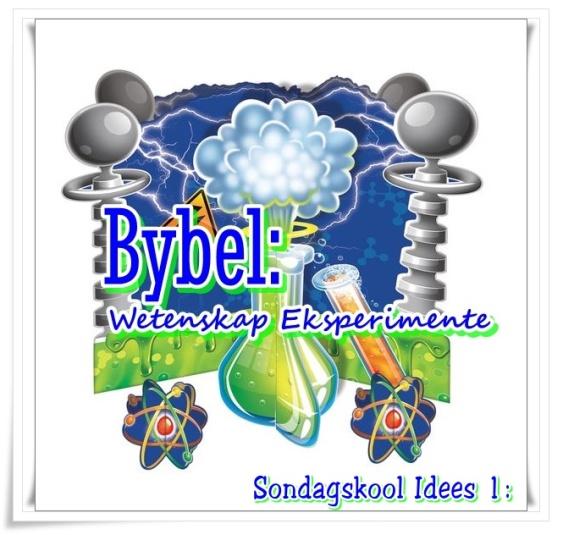 Bybel wetenskap eksperimente - groot