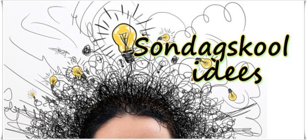 Sondagskool idees 2