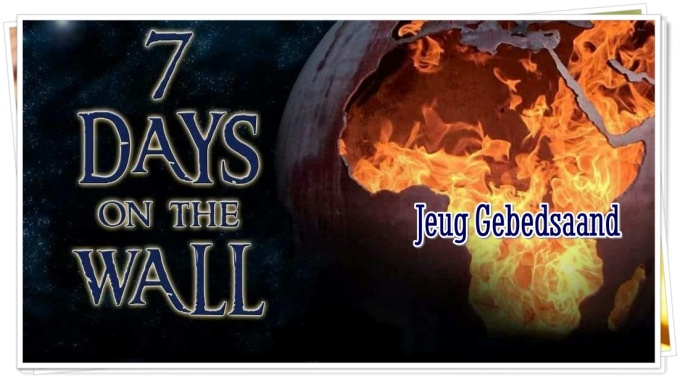 Jeug Gebedsaand - 7 Days on the Wall