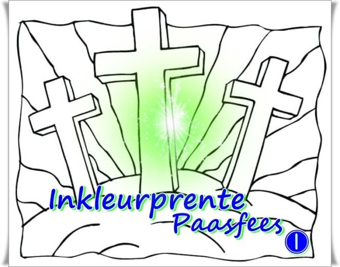 Inkleurprente Paasfees 1