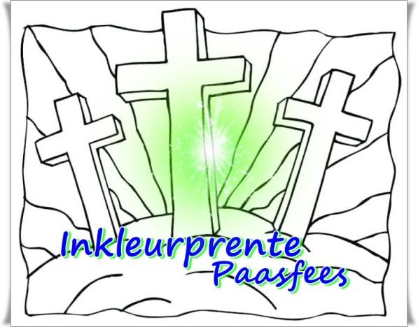 Inkleurprente Paasfees