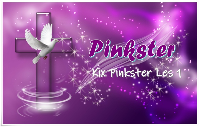 kix pinkster les 1 - groot