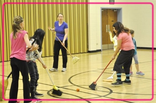 Broom Hockey