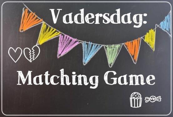 vadersdag matching game