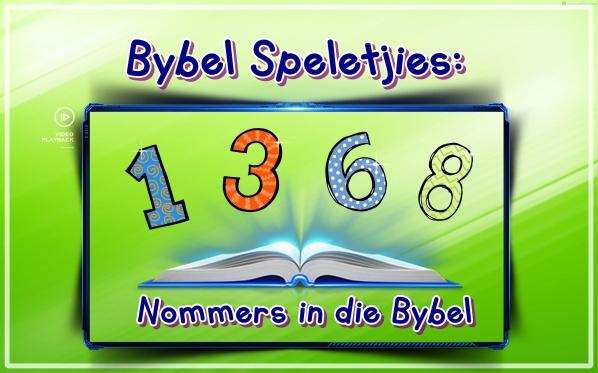 nommers in die Bybel