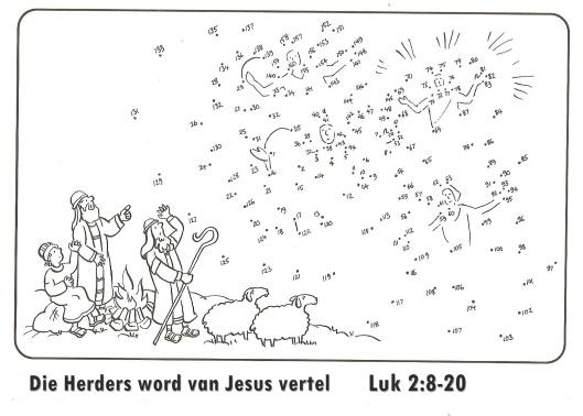 Die Herders word van Jesus vertel