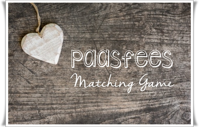 paasfees matching game - groot