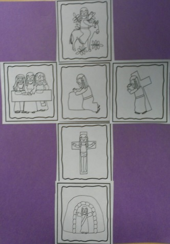 sequencing easter cards foto