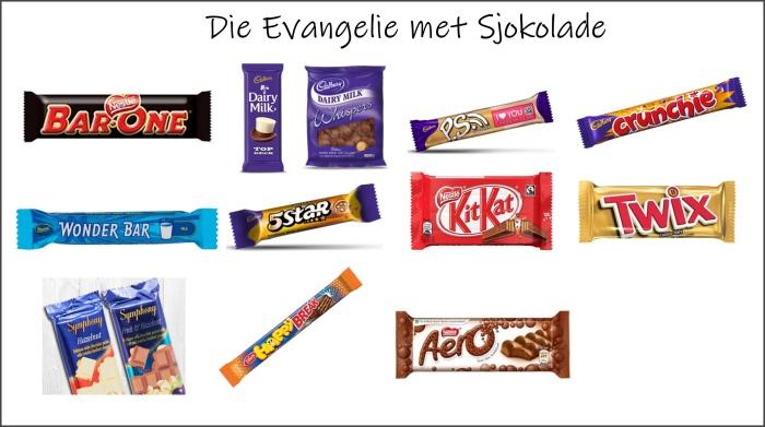 die evangelie met sjokolade 1