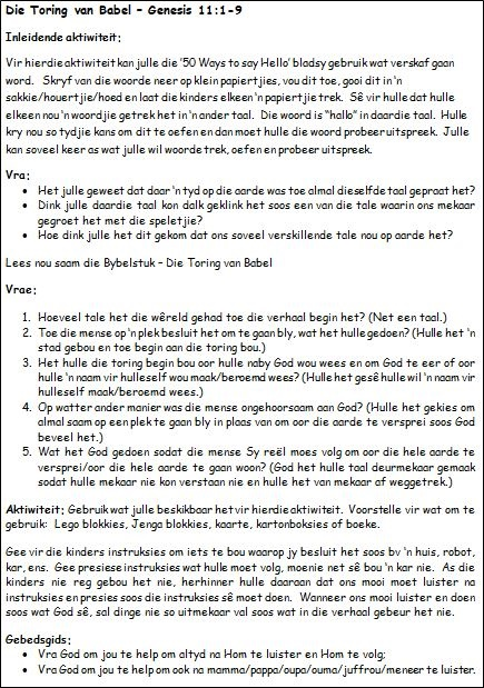 5a. Die Toring van Babel