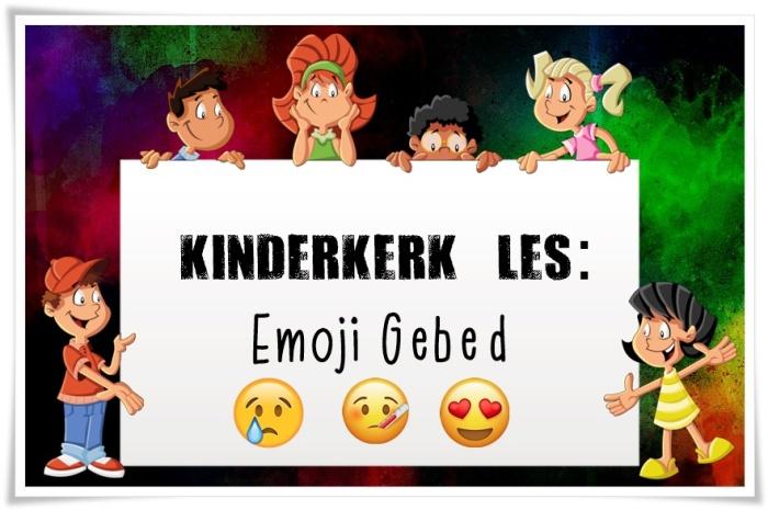 emoji gebed - groot
