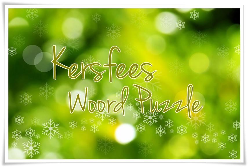 woord puzzle - groot