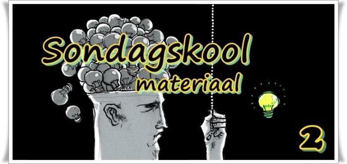 Sondagskool materiaal 3